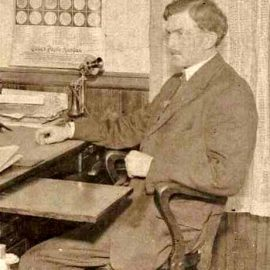 1933 Bonners Ferry Mayoral Radio Address