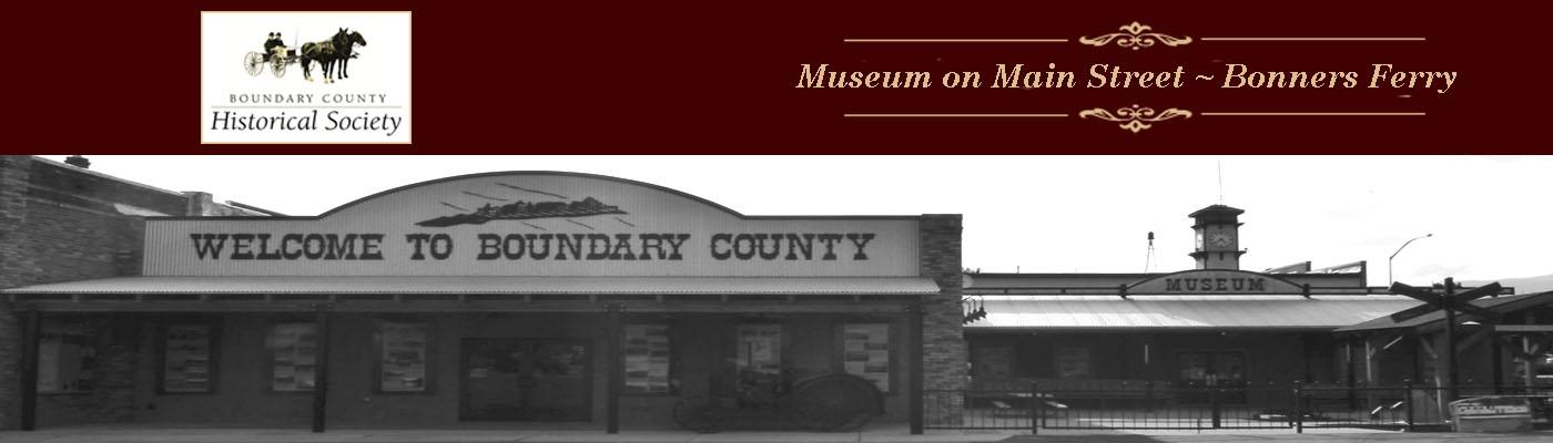 Boundary County Historical Society & Museum