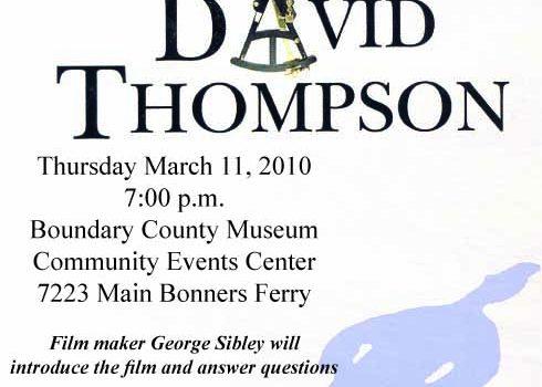 Shadows Of David Thompson